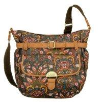 LiLiO Amsterdam  Shoulder Bag M Chestnut Umhängetasche