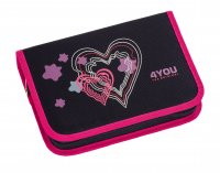 4You Stifteetui XL Romance Federtasche