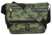 4You Umhängetasche Notebooktasche Laptoptasche Camouflage Industrie