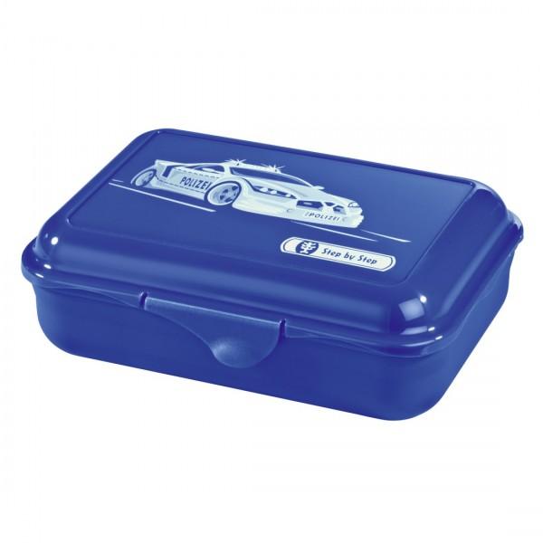 Step by Step Essbox Lunchbox Stadtpolizei