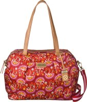 Lilio Schultertasche Carry All M Carmine