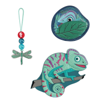 Step by Step Magic Mags Tropical Chameleon