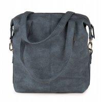 Zwei Tasche Conny CY12 Blue Schultertasche