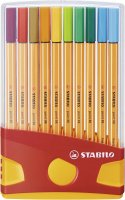 STABILO Fineliner point 88 ColorParade - 20er Tischset -