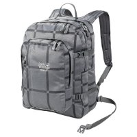 Jack Wolfskin Rucksack Berkeley Grey Big Check