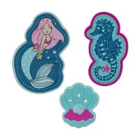 Scout Funny Snaps Mermaid 3 tlg.