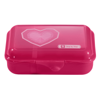 Step by Step Essbox Lunchbox Glitter Heart
