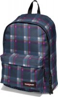 Eastpak Rucksack Out of Office Checked Pink
