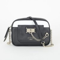 GUESS Tasche Forget me not Crossbody 414 Black Umhängetasche