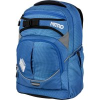 Nitro Rucksack Superhero Blur Brilliant Blue 30l