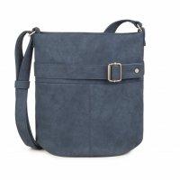 Zwei Tasche Karla K12 Blue Schultertasche Umhängetasche