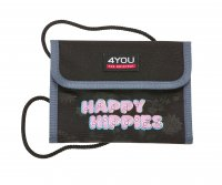 4You Kinder Geld-Brustbeutel Happy Hippes