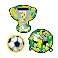 Scout Funny Snaps Soccer 3 tlg.